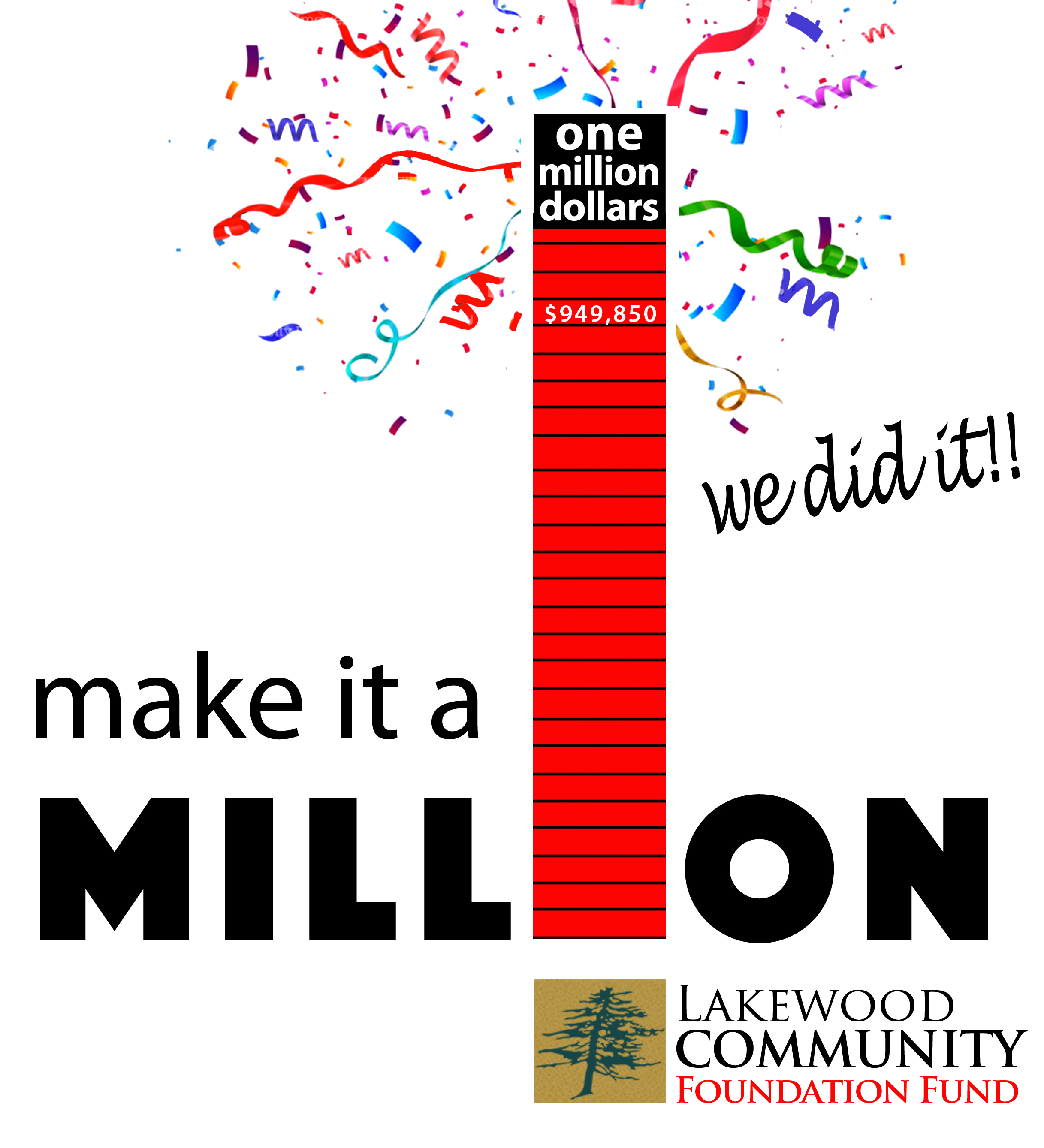 make it a MILLION - We're almost there!